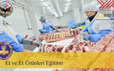 Et ve Et Ürünleri İşletmeciliği