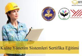 ISO Kalite Yönetim Sistemleri 4 Sertifika