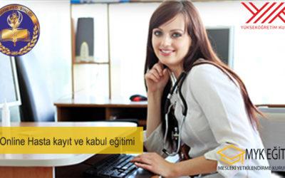 Online Hasta kayıt ve kabul eğitimi