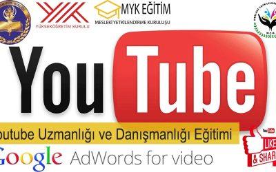 Youtube Uzmanlığı ve Danışmanlığı Eğitimi