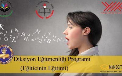 Diksiyon Eğitmenliği Eğitimi