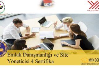 Emlak Danışmanlığı ve Site Yöneticiliği Eğitimi