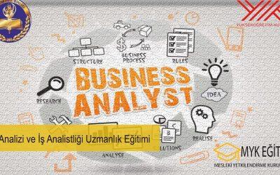 İş Analizi İş Analistliği Uzmanlık Eğitimi
