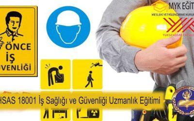İş sağlığı ve Güvenliği Uzmanlık Eğitimi