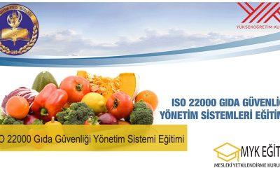 İSO 22000 Gıda Güvenliği Yönetim Sistemi Eğitimi