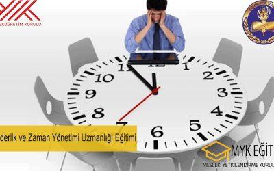 Liderlik Zaman Yönetimi Uzmanlığı Eğitimi