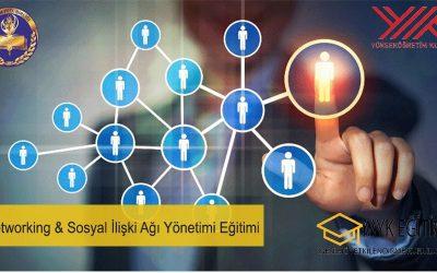 Networking Sosyal İlişki AGİ Yönetimi Eğitimi