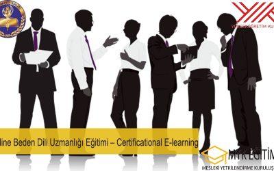 Online Beden Dili Uzmanlığı Eğitimi Certificational E learning