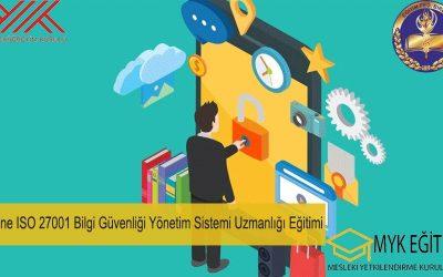 Online İSO 27001 Bilgi Güvenliği Yönetim Sistemi Uzmanlığı Eğitimi