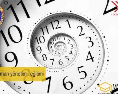 Online Zaman yönetimi eğitimi