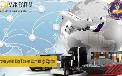 Profesyonel Dış Ticaret Uzmanlığı Eğitimi