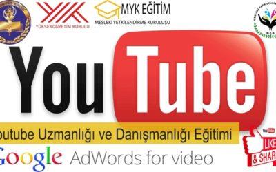 Youtube Uzmanlığı Danışmanlığı Eğitimi