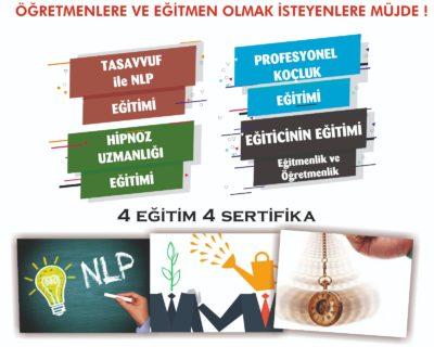 Uzman Eğitmen 4 Dalda Eğitmenlik ve Uzmanlık Eğitimi PAKET -4