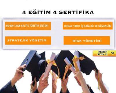 4 Eğitim 4 Sertifika Projesi