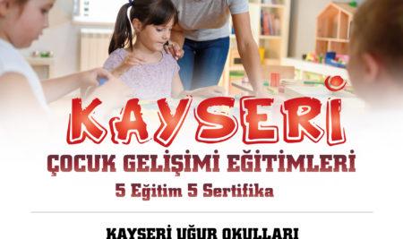 KAYSERİ / MONTESSORİ-DİSLEKSİ VE OYUN TERAPİSİ EĞİTİMİ